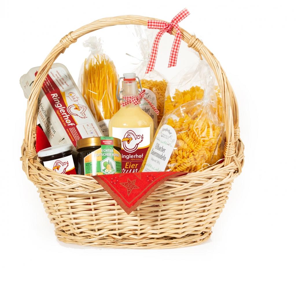 Geschenkkorb vom Ringlerhof in Ellbach
