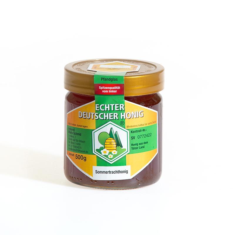 Natürlicher Honig vom Imker im Hofladen des Ringlerhofes in Bad Tölz